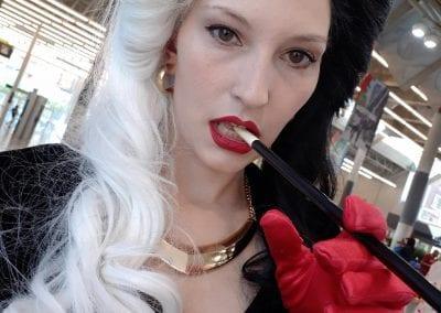 Emily as Cruella DeVille