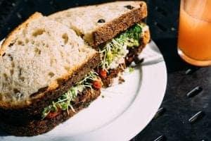 Hairy sandwich